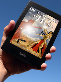 Link to buy kindle edition of CAPTAIN WYLDE 002 @£2.99