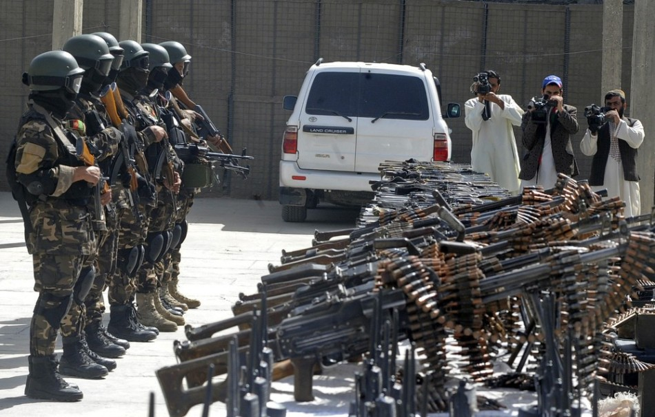Afghan Swat Police Unit Seizes Weapons And Ammunition Global