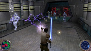 Jedi Outcast, Jedi Knight, Jedi Academy, Force Unleashed