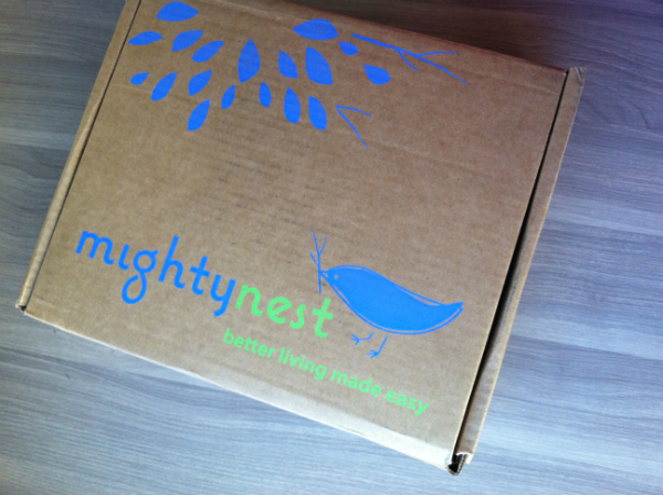 Mighty Nest Pamper Pack - December 2012 Review - Eco Friendly Monthly Subscription Boxes