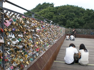 love padlocks,korea