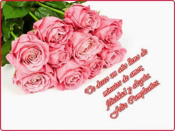 Imagenes y fotos Tarjetas de Cumpleaños con Rosas  - Imagenes De Cumpleaños Para Mujeres De Rosas