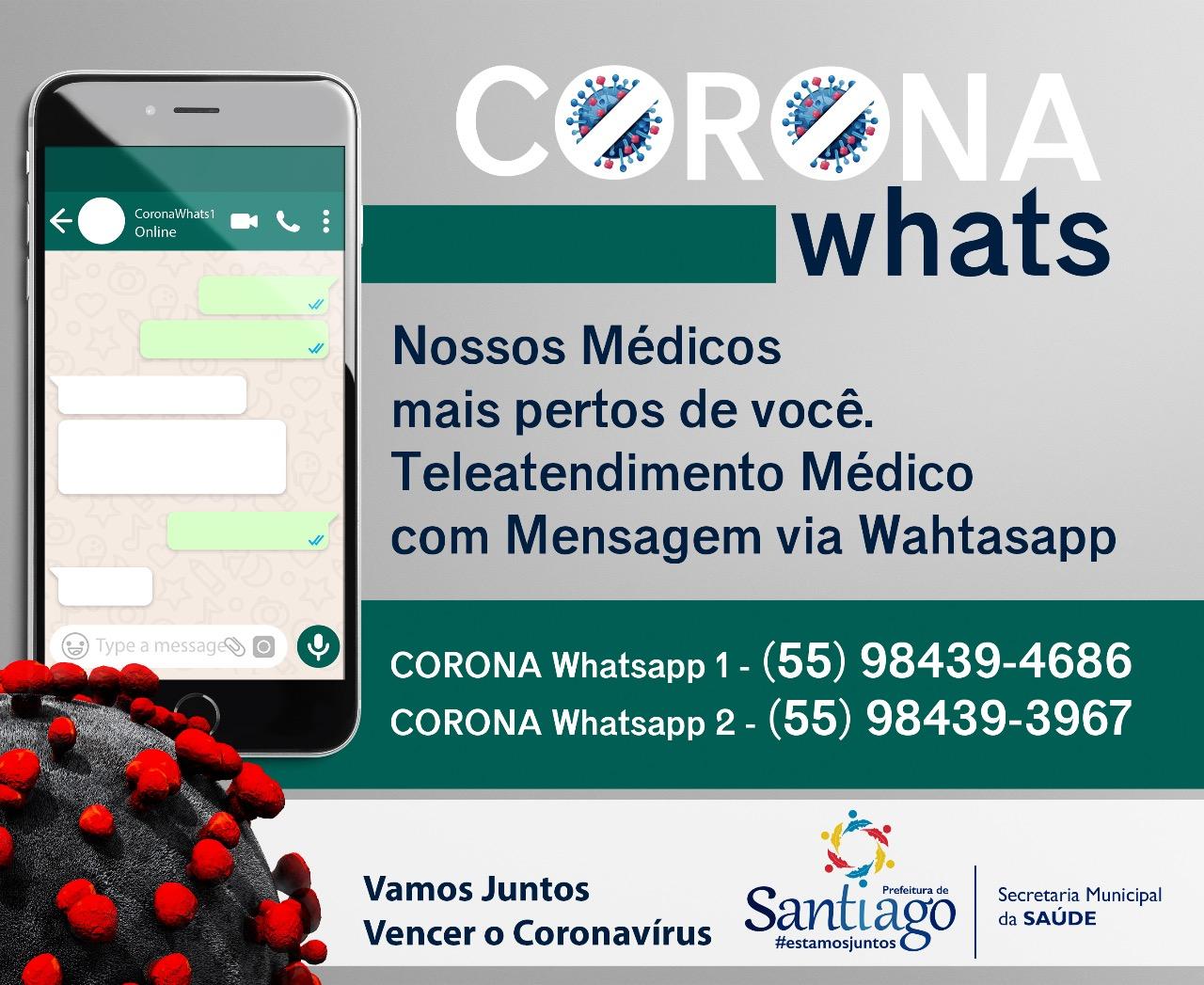 CoronaWhats em Santiago!