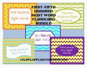 http://www.teacherspayteachers.com/Product/Sight-Word-Bundle-Fry-Hundred-Flashcards-1299557