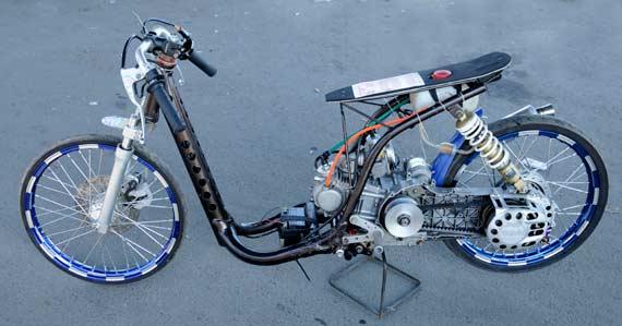 Yamaha Mio Drag Race