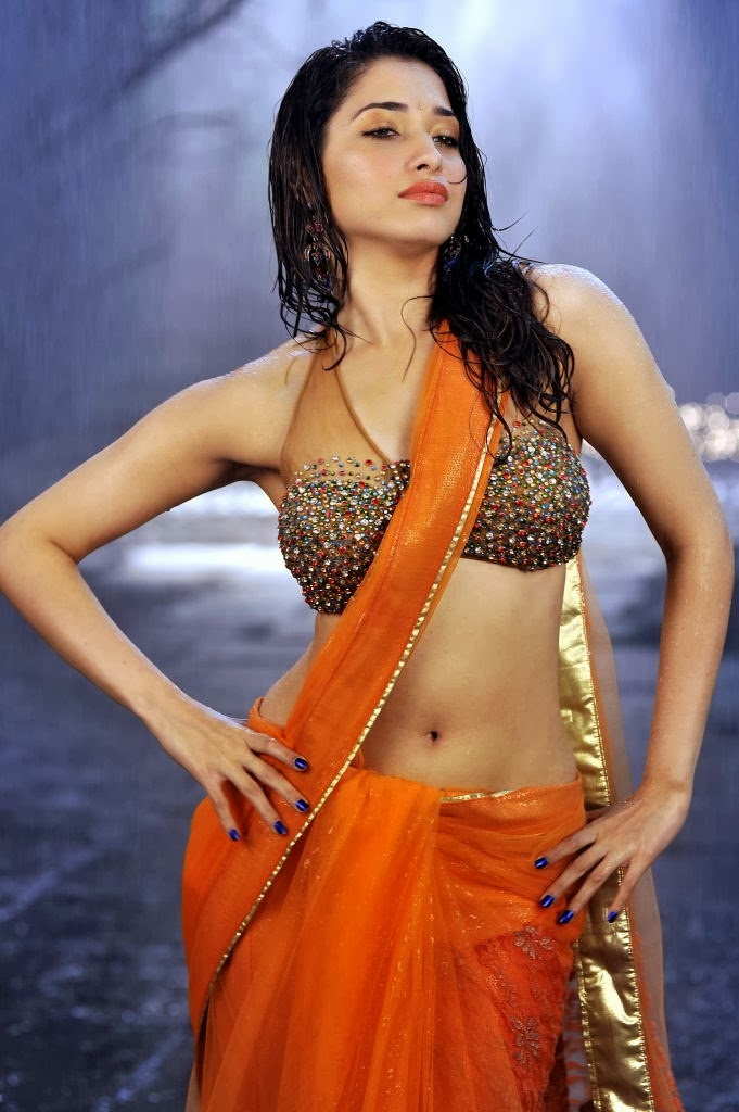 Tamannah hot In Saree