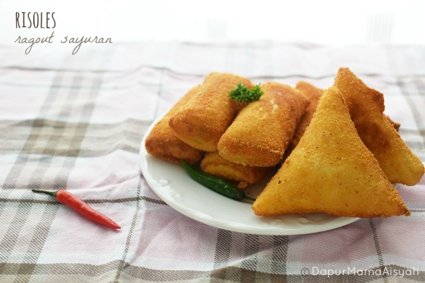 Risoles Ragout Sayuran yang Creamy & Ngejuu..
