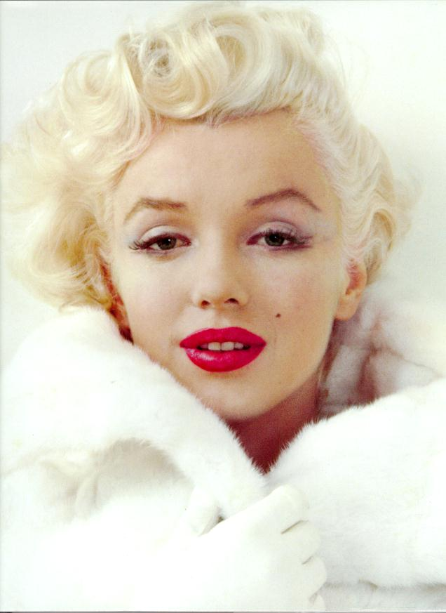 color y forma: Marilyn Monroe