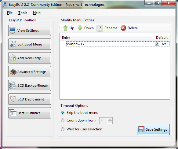 EasyBCD-OS Default