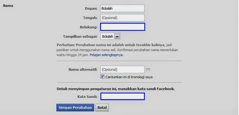 How To Remove Your Last Name On Facebook?