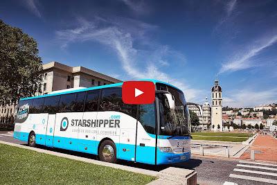 Starshipper, retour de croisière Barcelone - Lyon.