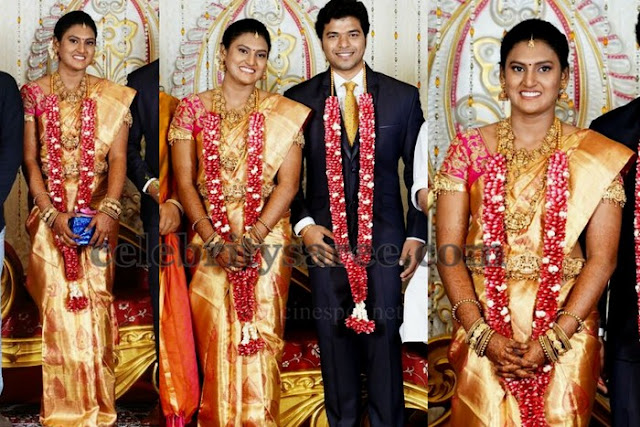 Selvaraj Daughter Wedding Saree
