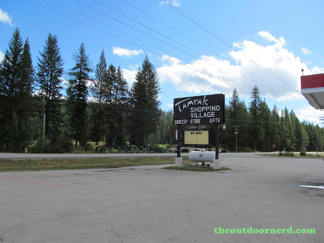 Outlet Campgrounds At Priest Lake, Idaho: Little Store Sign