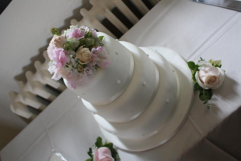 Clumsy Bride Cake Topper