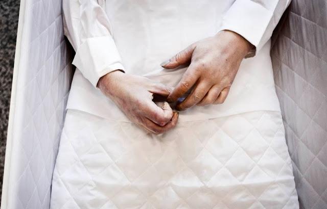 Cathrine Ertmann: At møde døden - 'Kolde hænder'