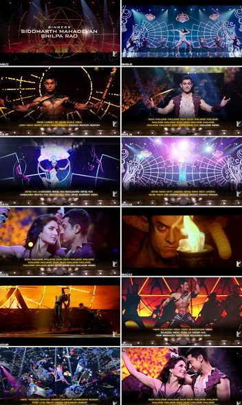Malang (Dhoom 3) 3gp, Mp4, PC HD Video Song Download