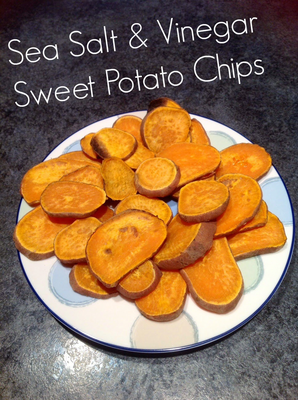 Sea Salt and Vinegar Sweet Potato Chips