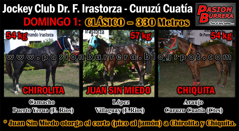 CURUZU CUATIA - 1-2- 330