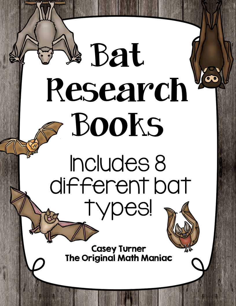 https://www.teacherspayteachers.com/Product/Bat-Research-Books-1716949