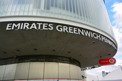 Emirates Greenwich Peninsula Station, London