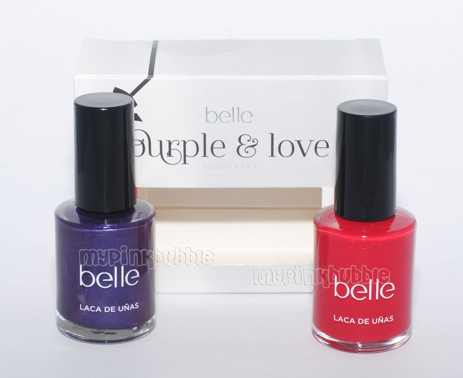 Belle Purple & love esmaltes