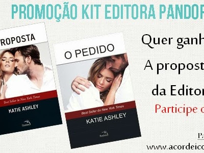 #NovoResultado - Promoção Kit Editora Pandorga