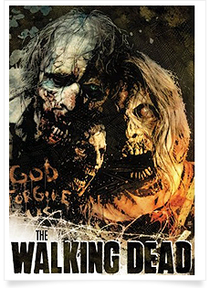 the walking dead season 2 poster%255B4%255D The Walking Dead   2ª Temporada Completa   HDTV   Dublado & Legendado
