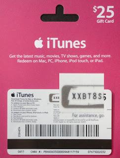 Cartão iTunes Gift Card legítima