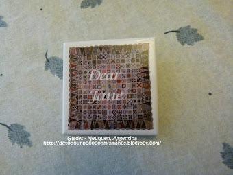 PROYECTO 2012: DEAR JANE®