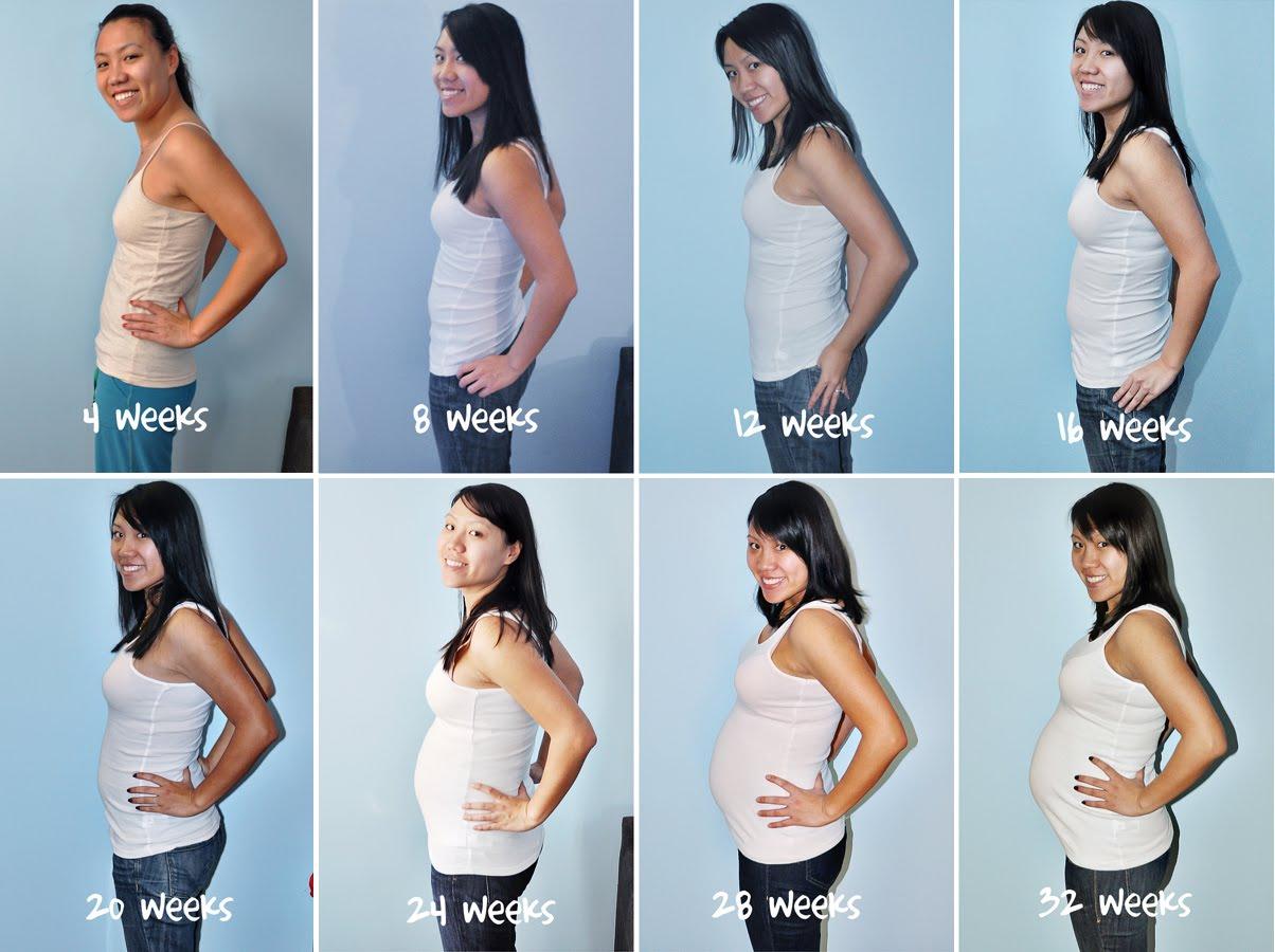 Фото 5 месячной беременности