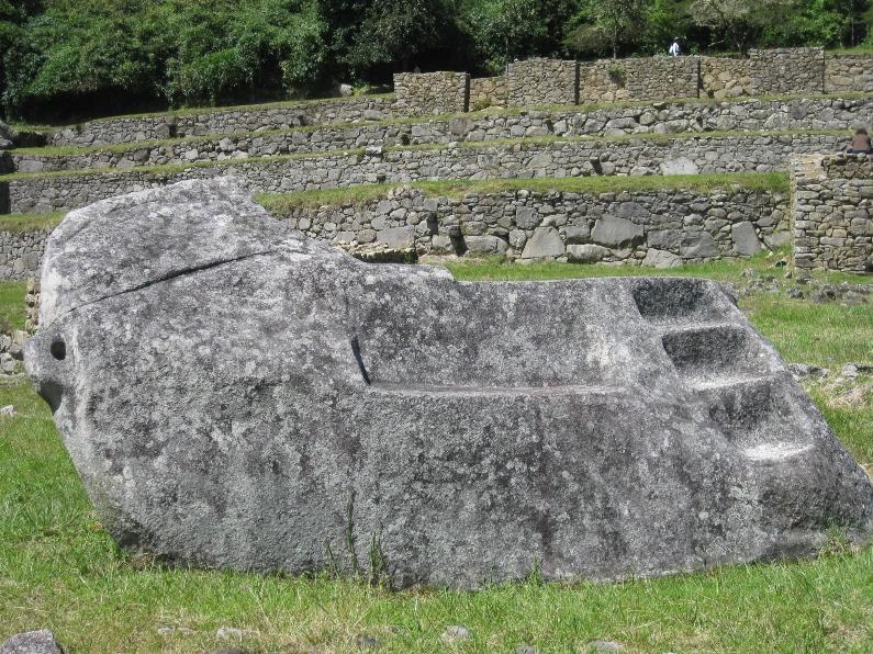 Granite Stone Machu Picchu : Dragonwoman machu picchu the city in clouds