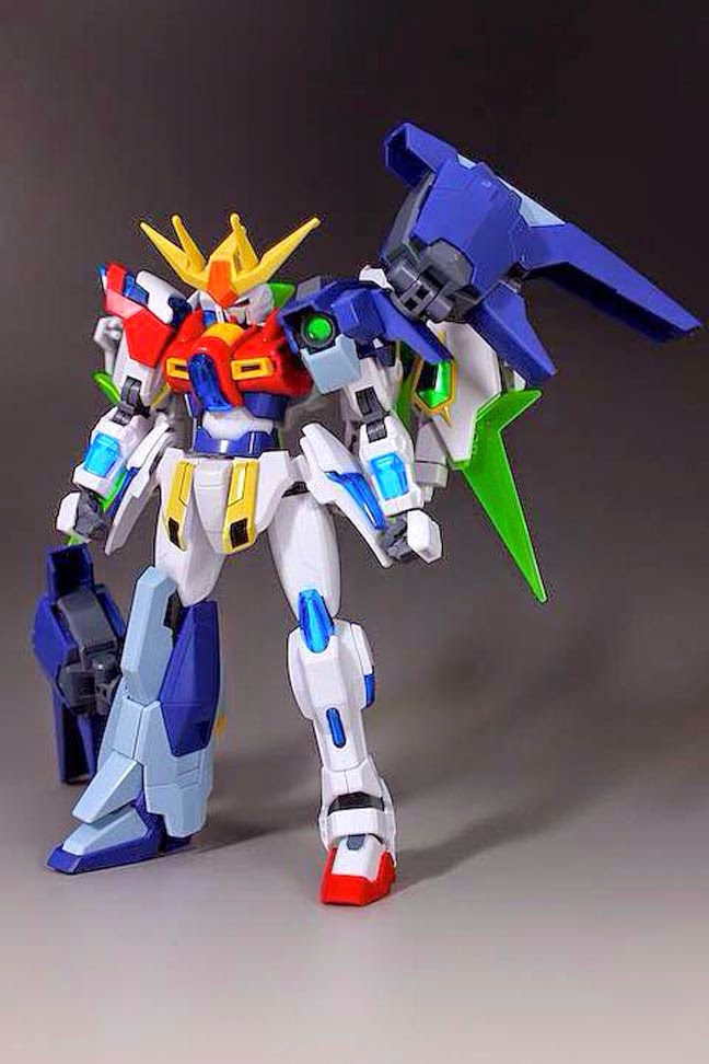 Gundam guy hgbf 1 144 team try fighters try burning for Domon kasshu build fighters try