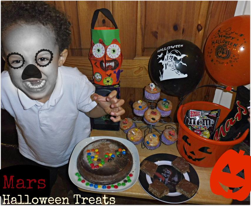 Our Halloween Mars chocolate Treats