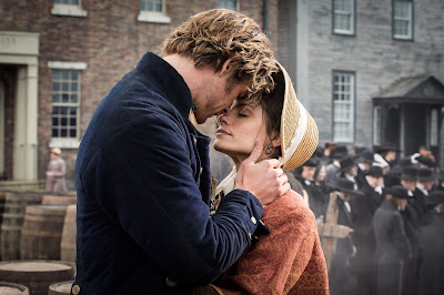 Chris Hemsworth and Charlotte Riley in In The Heart of the Sea
