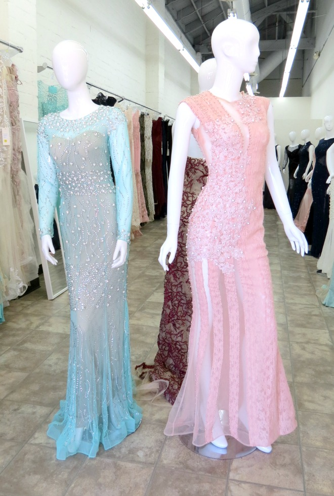 The santee alley now open azzure couture special for Santee alley wedding dresses
