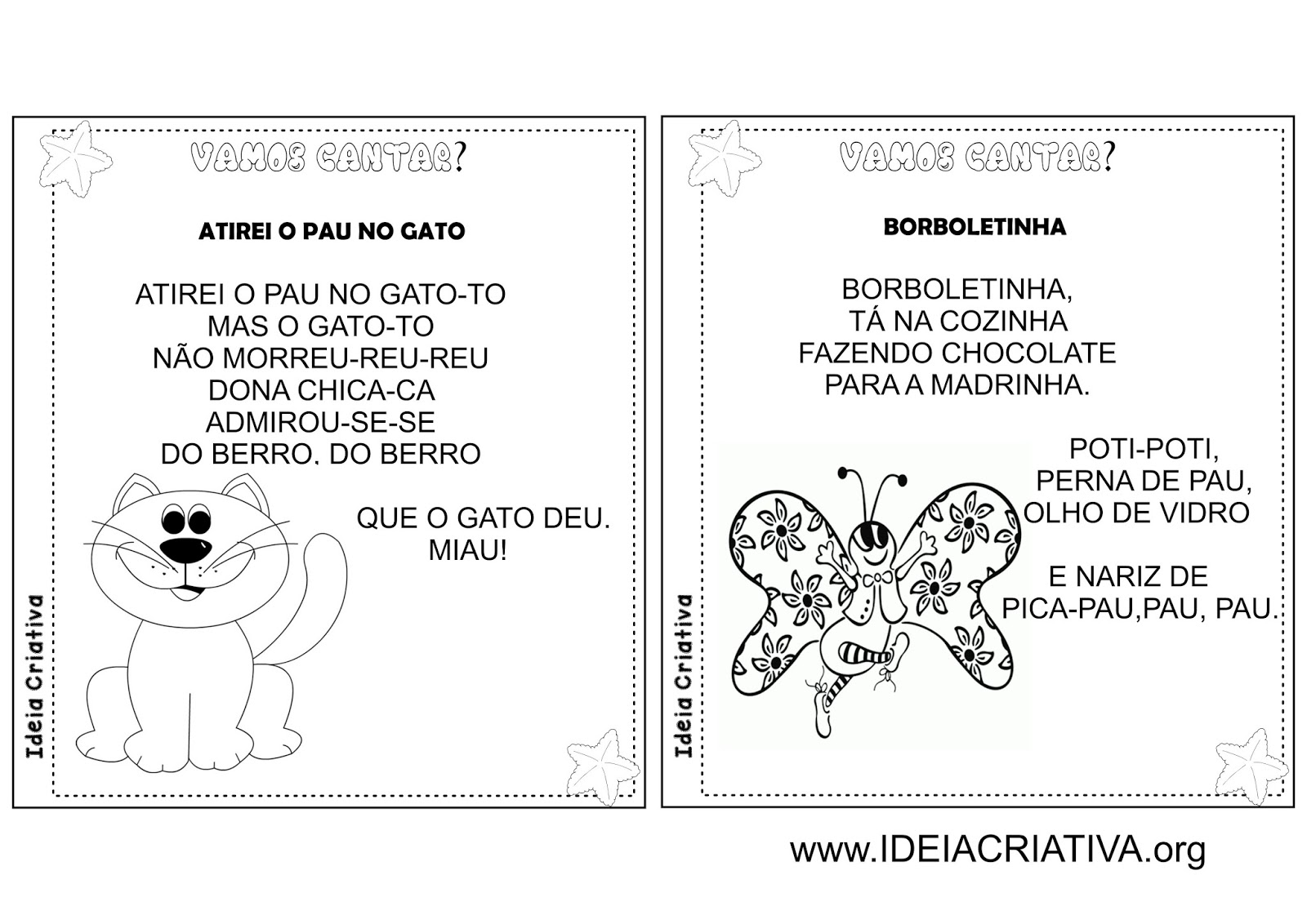 Preferência Álbum Ilustrado Cantigas de Roda Folclore | Ideia Criativa - Gi  RC78