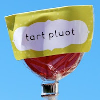 Tart Pluot Lollipops