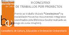 Premio II Concurso de Traballos por Proxectos
