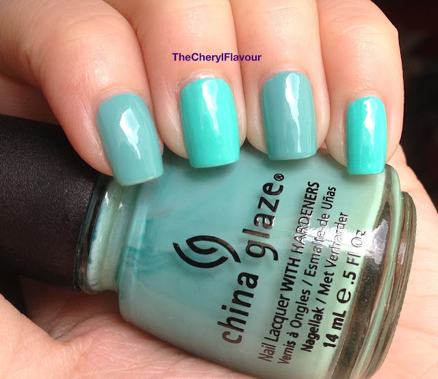 China Glaze Too Yacht To Handle vs China Glaze For Audrey