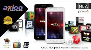Axioo PicoPad 5 GEA Harga dan Spesifikasi