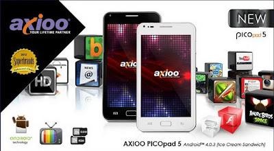 Harga dan Spesifikasi Lengkap Axioo PicoPad 5 GEA