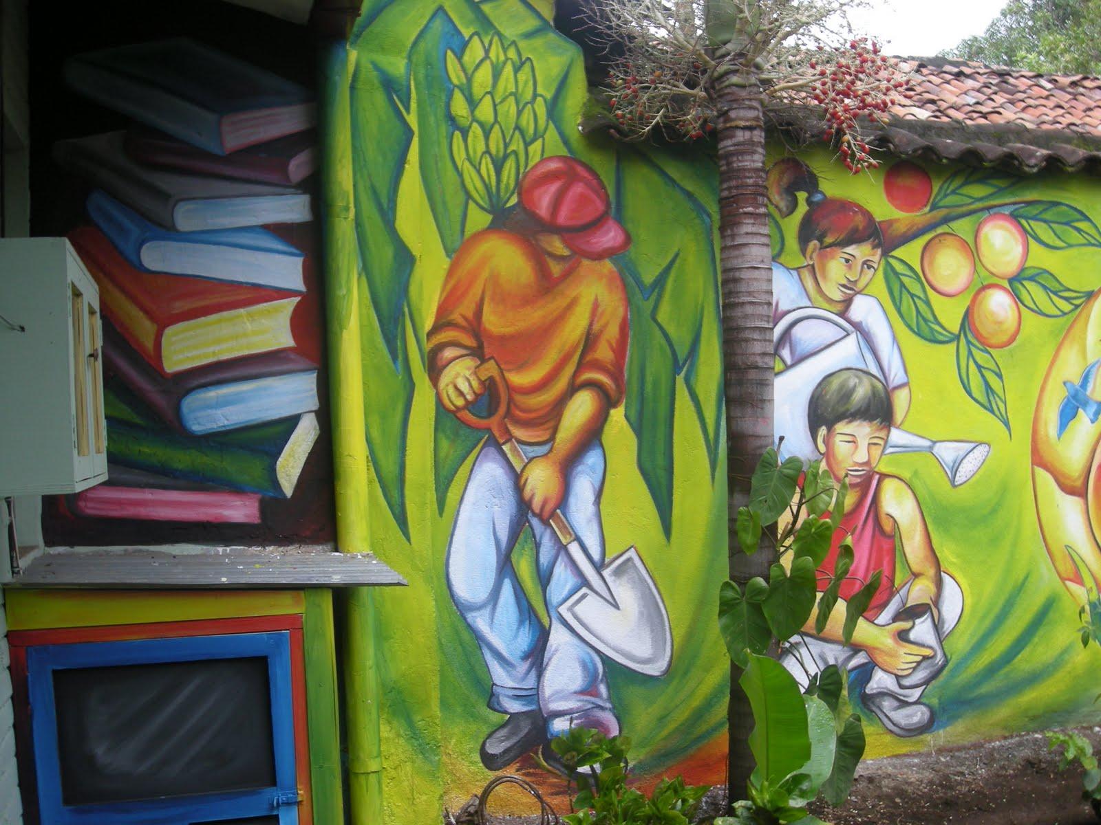 Huellas estelares blog de roberto loaisiga mendez for Mural nicaraguense