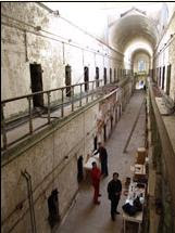 Cell block 7 at Eastern State Penitentiary is where Al Capone was haunted by spirits of his past