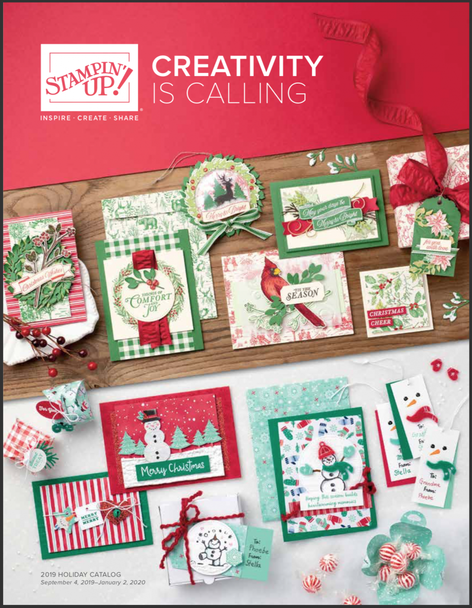 2019 Christmas Catalogue