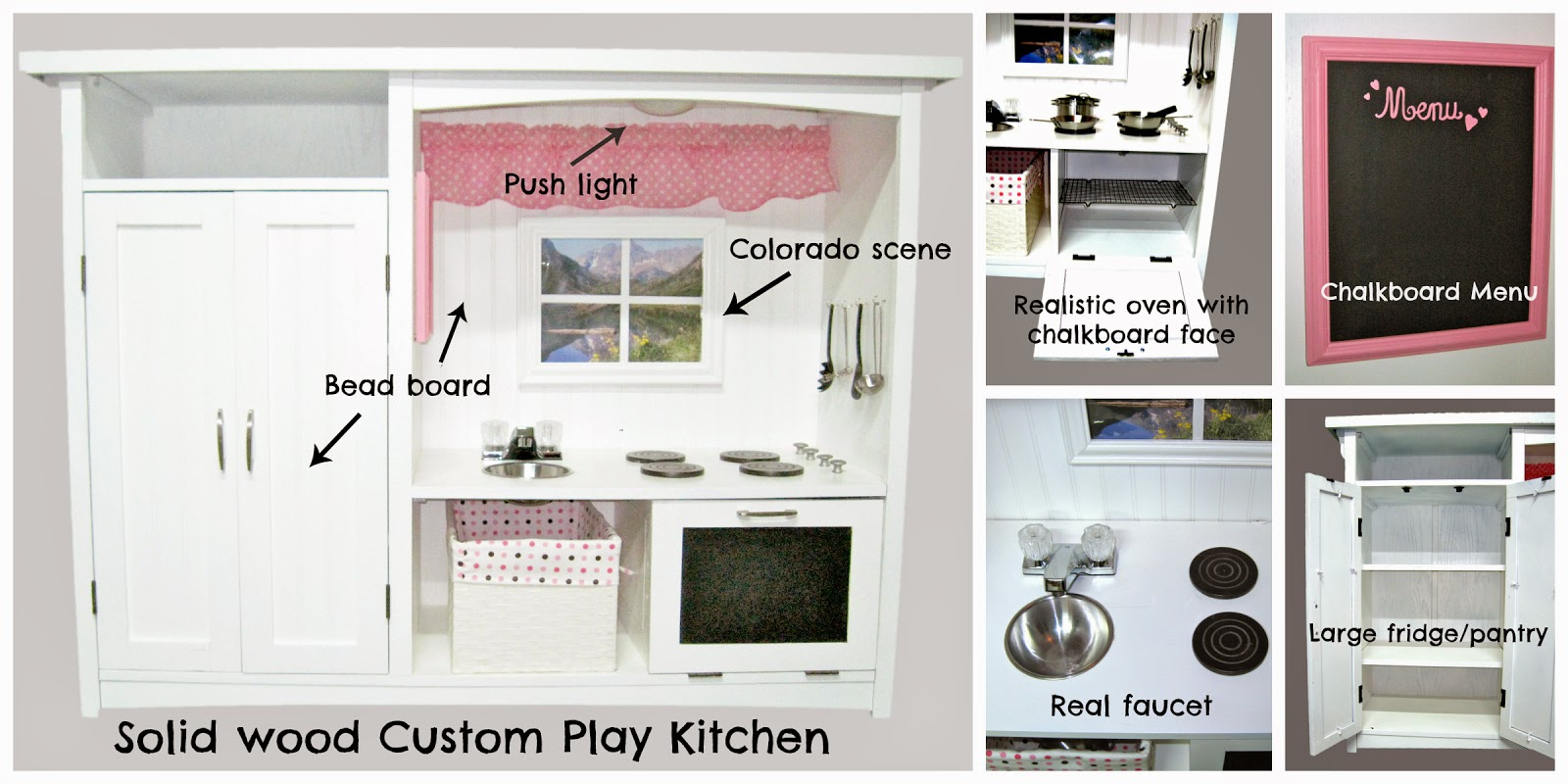 Outstanding Play Kitchen Menu Ornament - Kitchen Cabinets | Ideas ...