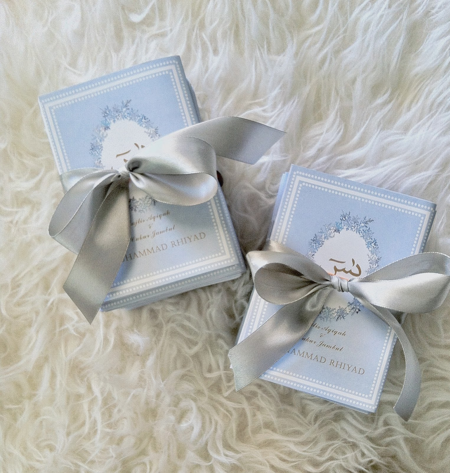 Oh pretty please baby dior inspired design doorgifts for for Idea door gift cukur jambul