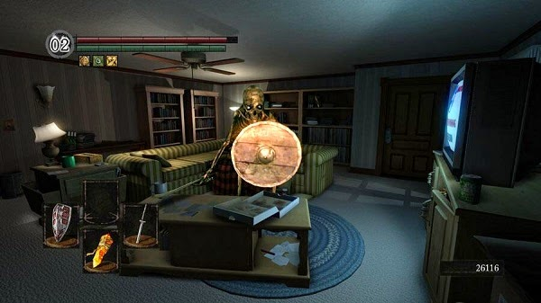 action game gone home
