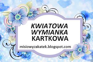 WYMIANKA KARTKOWA KWIATY - TARJETAS CON FLORES