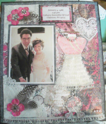 Altered Wedding Canvas