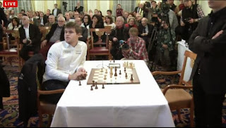 Echecs : Carlsen corrige Anand en 21 coups - Photo © site officiel